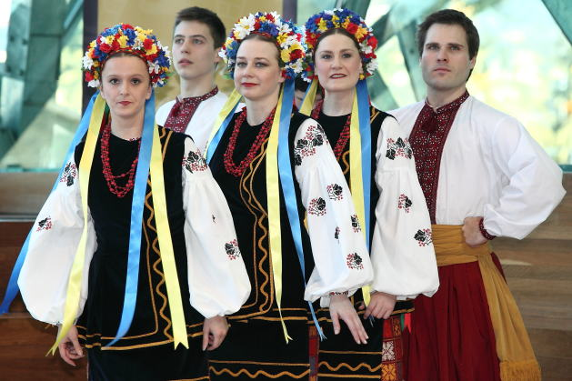 ウクライナは、コサックの国だ ...